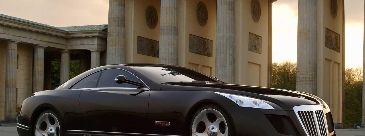 sportcar elegan mercedes-maybach-exelero