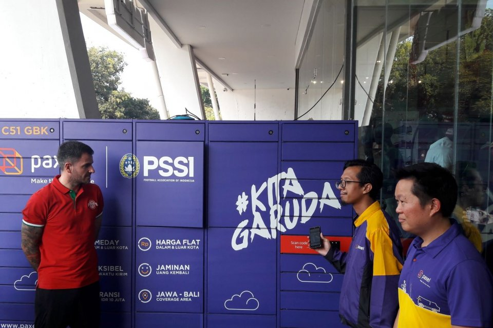 Dukungan Same Day Delivery Paxel untuk Timnas Kualifikasi Piala Dunia 2022