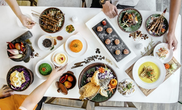 menu makan di restoran di jakarta